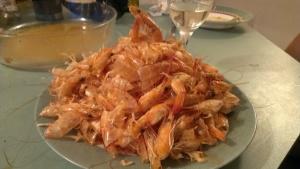 Crevetten nachher