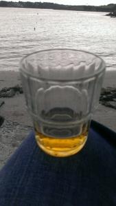 Digestif am Strand