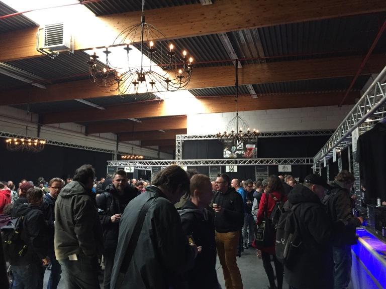 Alvinne Beerfestival später am Tag