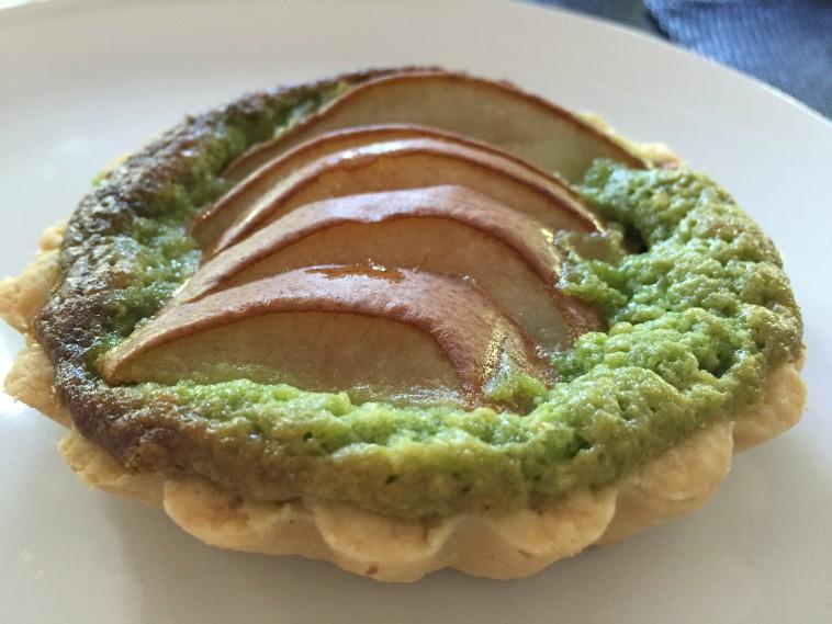 Tartelettes Pistache mit Birne