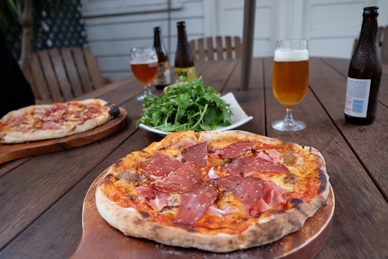 Pizza aus Russell, Nordinsel Neuseeland
